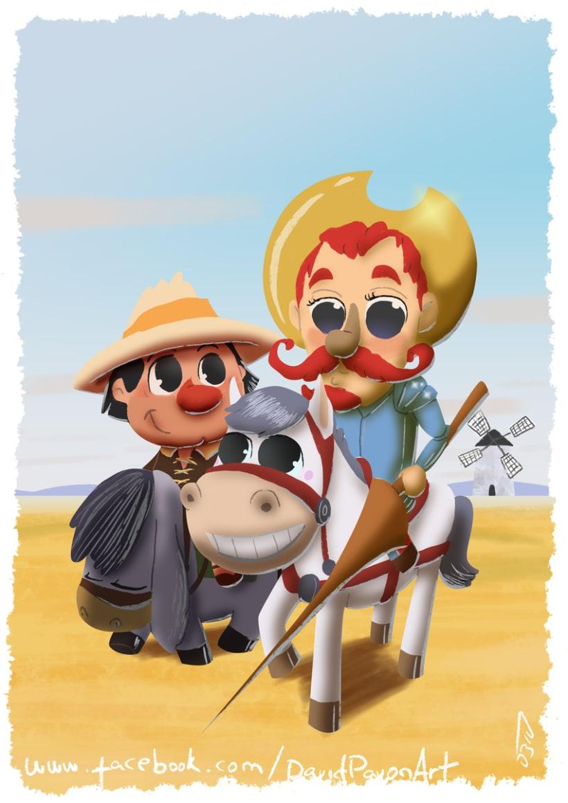 Don Quijote de la Mancha -1