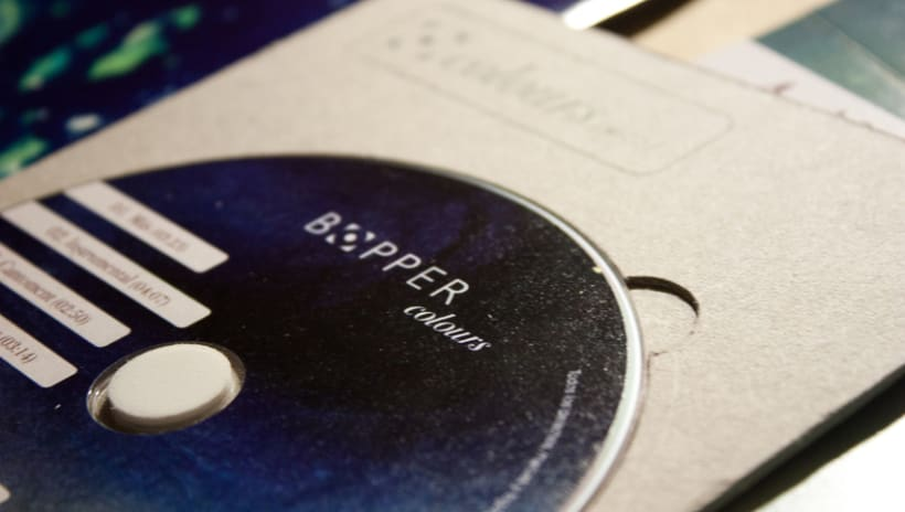 Bopper (branding y packaging de música) 2