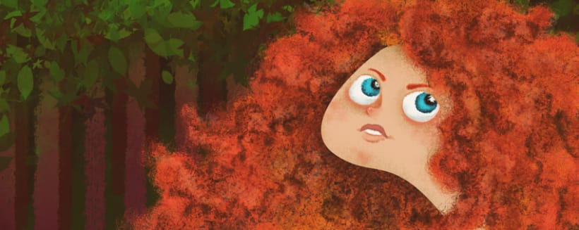 Princess Merida -1