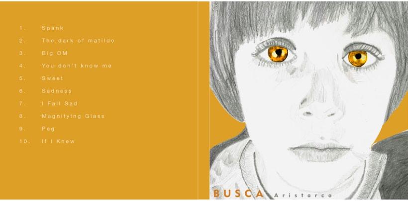 Diseño e Ilustración de CD - Aristaco -1