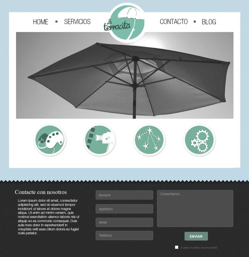 La Terracita... Logo y Web 0