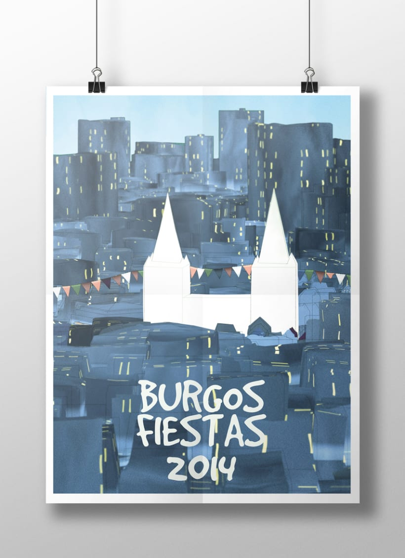 Propuesta para el cartel de fiestas de San Pedro y San Pablo 0