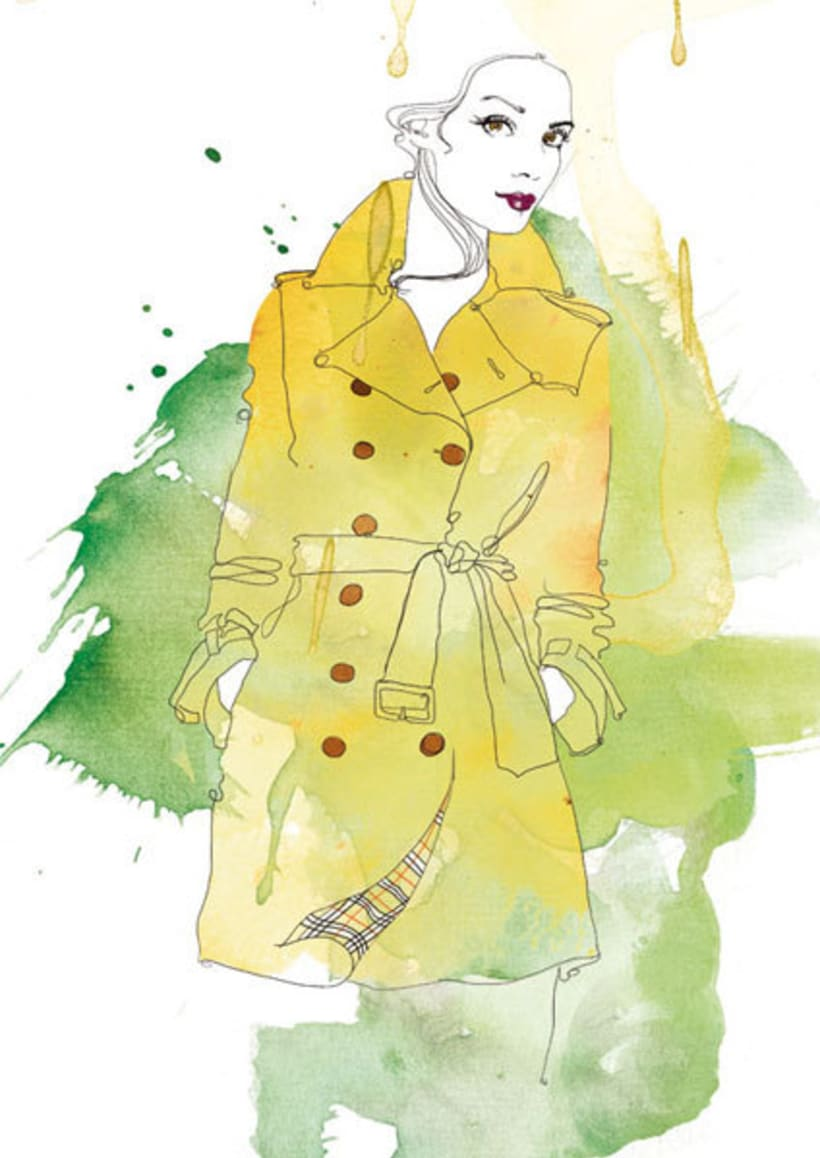 Ilustraciones para Marie Claire 2