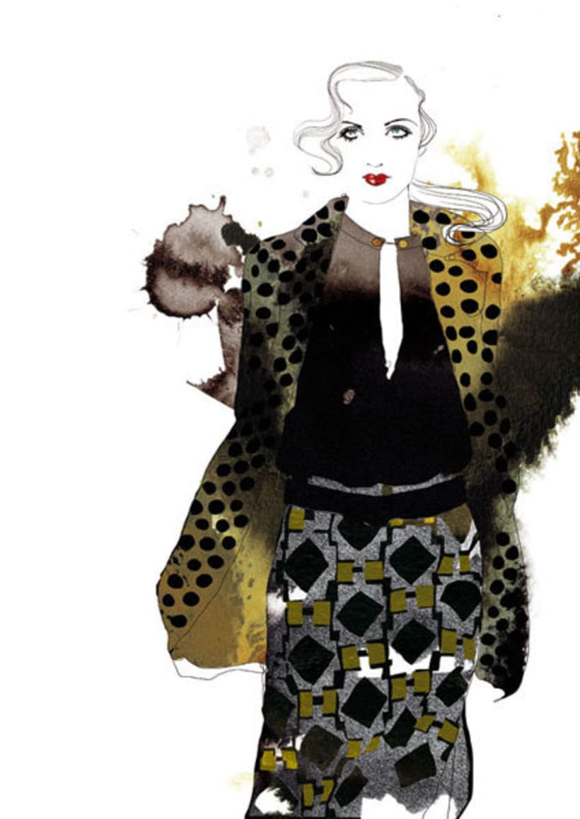 Ilustraciones para Marie Claire 5