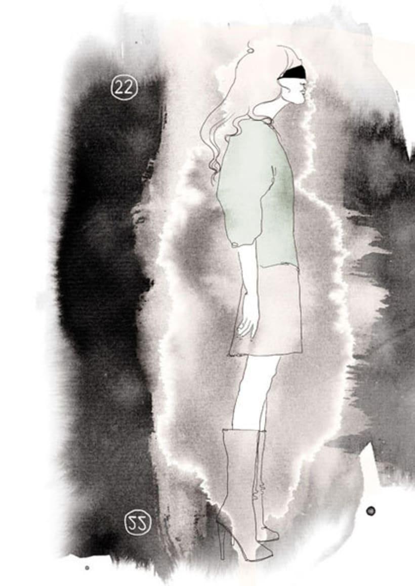 Ilustraciones para Marie Claire 6