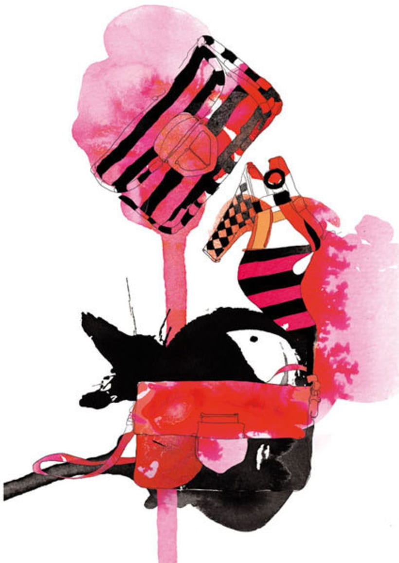 Ilustraciones para Marie Claire 3