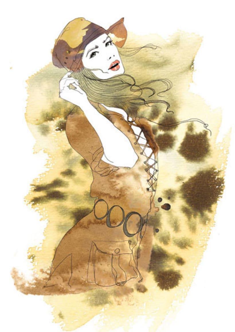 Ilustraciones para Marie Claire 4