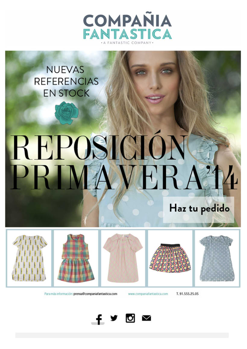 Mailings Moda (prensa, wholesale, invitaciones) 1