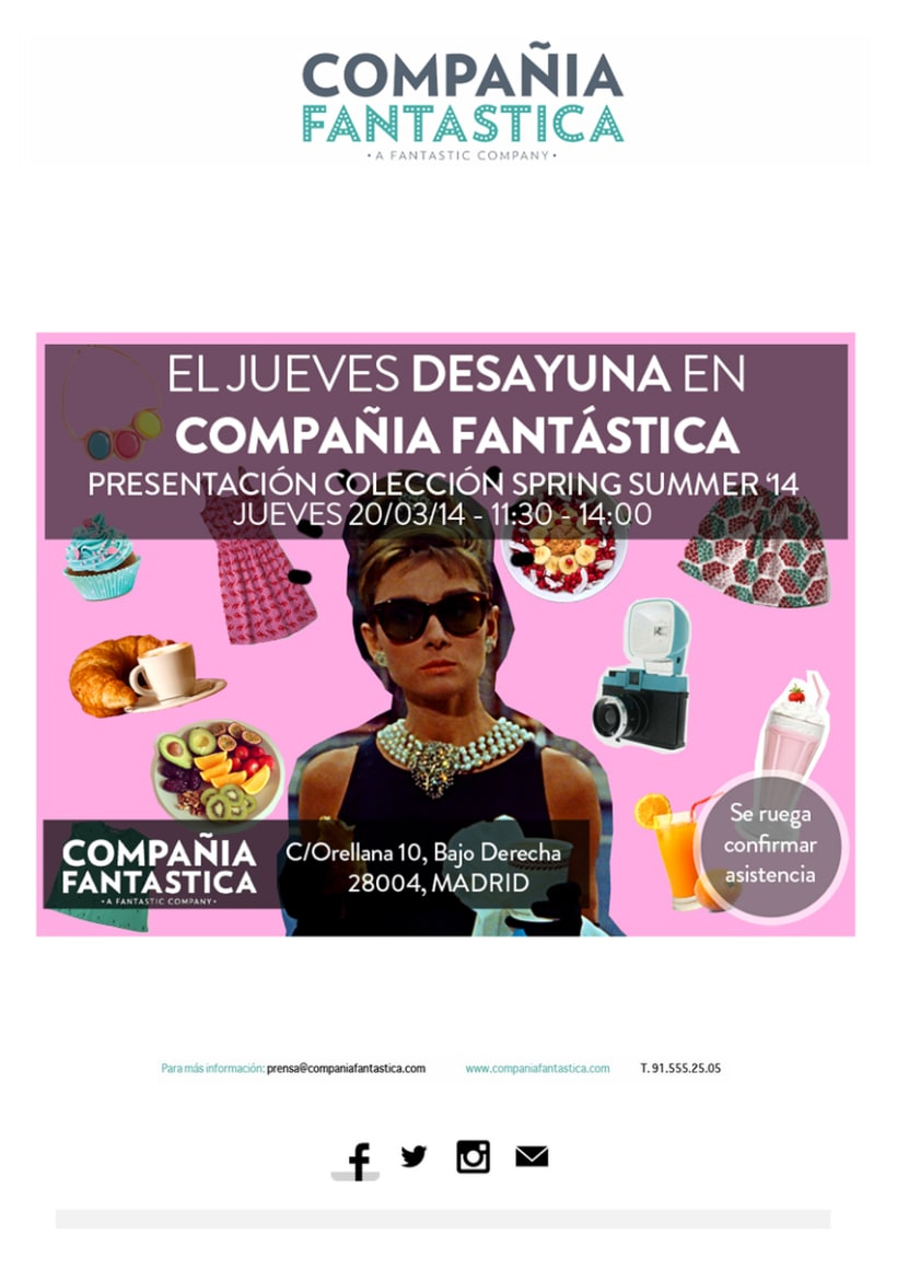 Mailings Moda (prensa, wholesale, invitaciones) 12