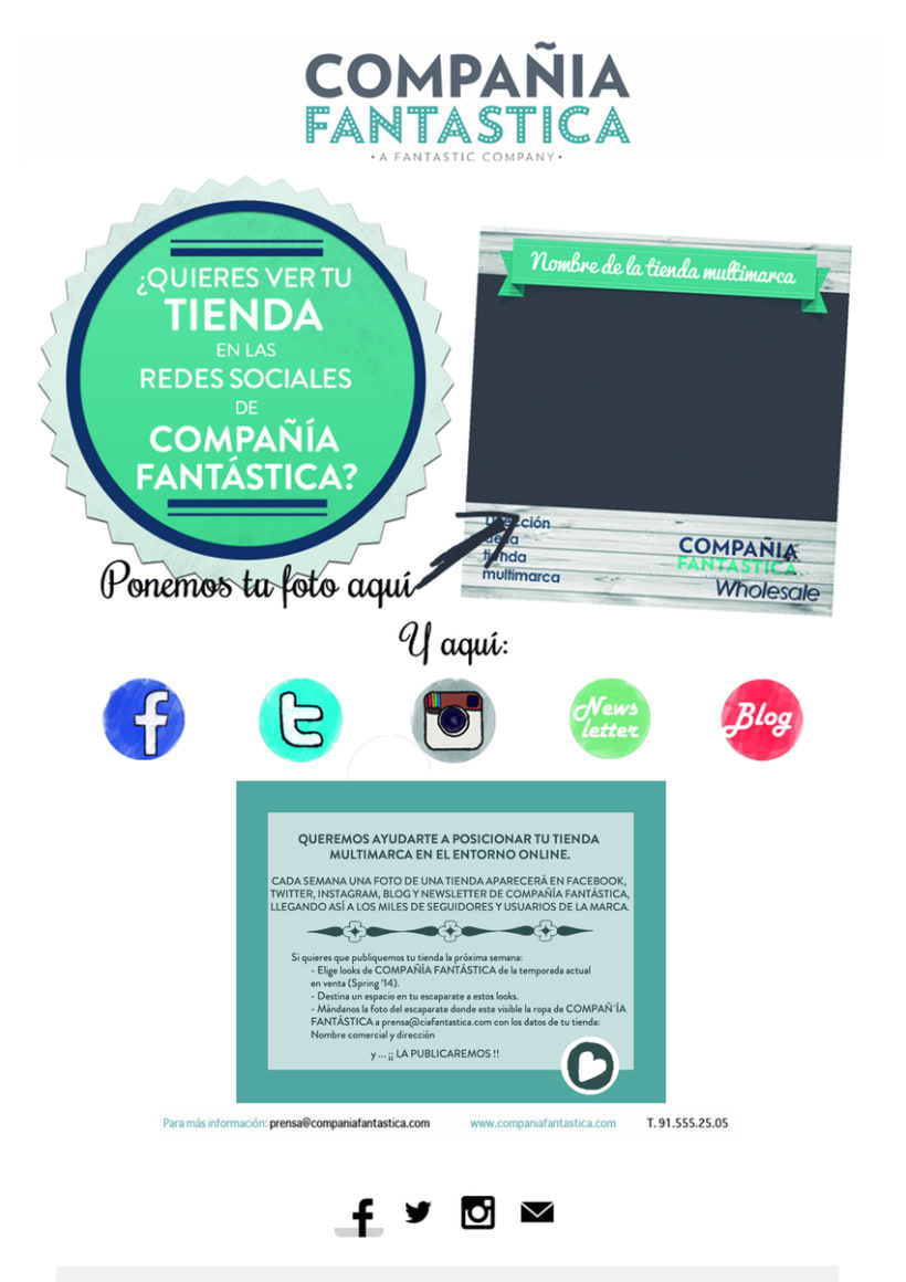 Mailings Moda (prensa, wholesale, invitaciones) 15