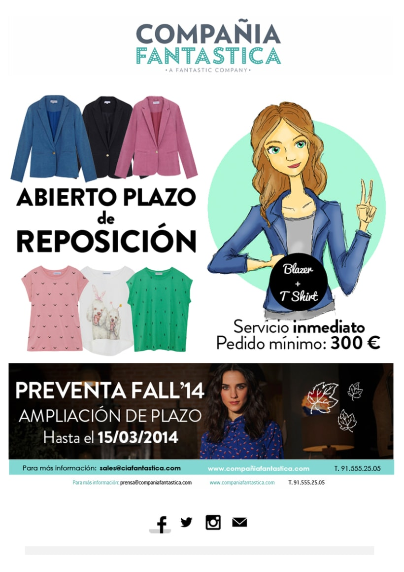 Mailings Moda (prensa, wholesale, invitaciones) 7