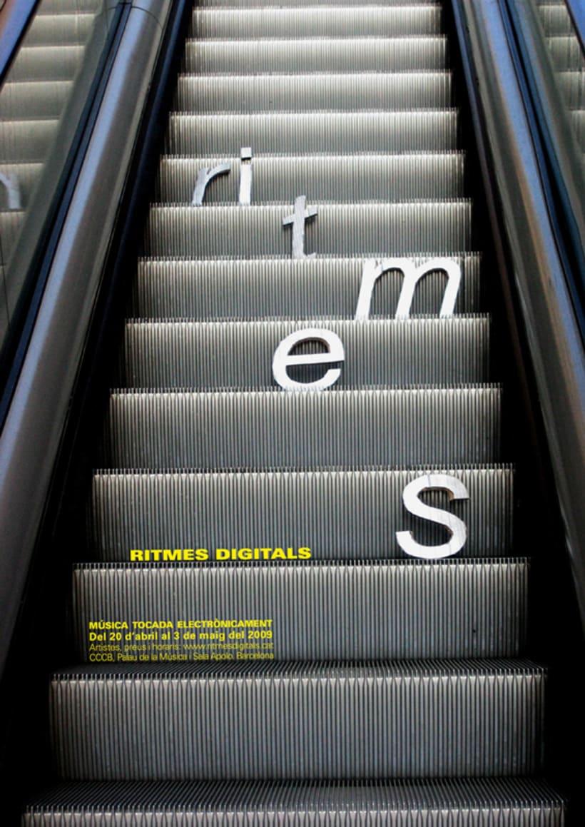 Ritmes Digitals: Cartell 2
