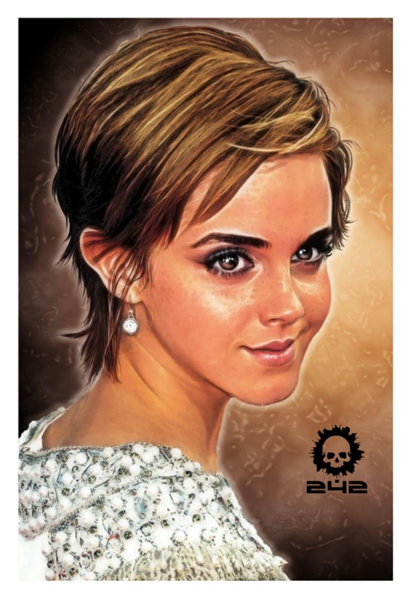 Emma Watson - Cartoon 2