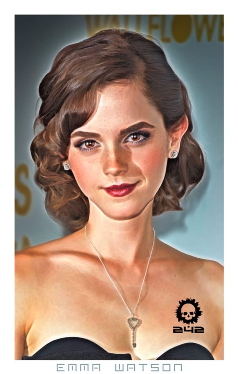 Emma Watson - Cartoon 1