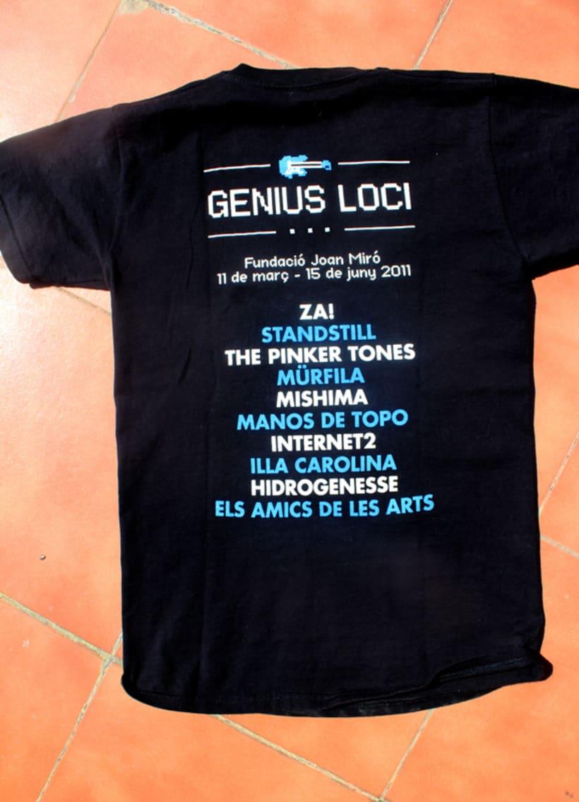 Fundació Miró: Merchandising Exposició Genius Loci 2