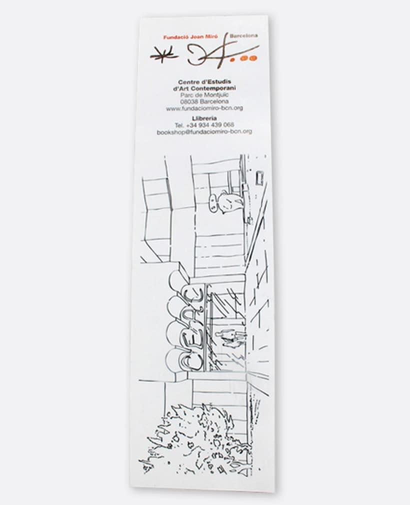 Fundació Miró: Punt de llibre -1