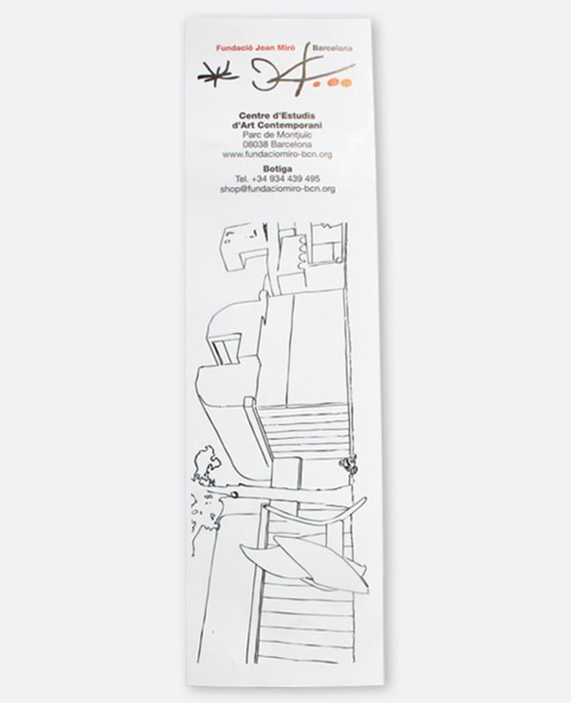 Fundació Miró: Punt de llibre 0