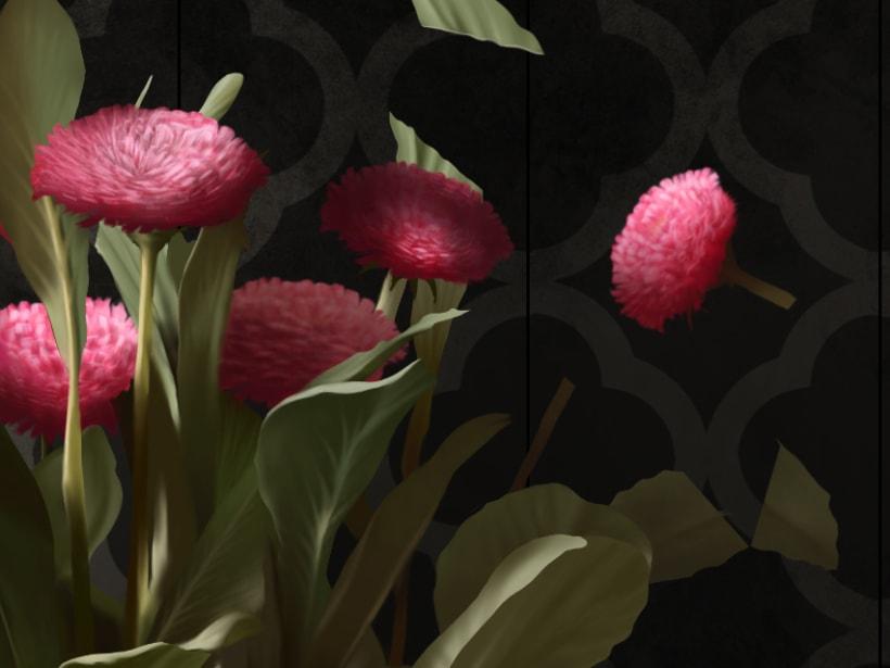 Recortes - Pintura digital realizada con los dedos en el Ipad 6