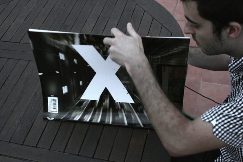 """X"" Magazine, revista cultural: Disseny Editorial 2"
