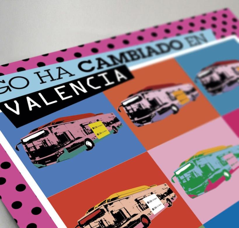 EMT Valencia, ahora tu publicidad es arte. 1