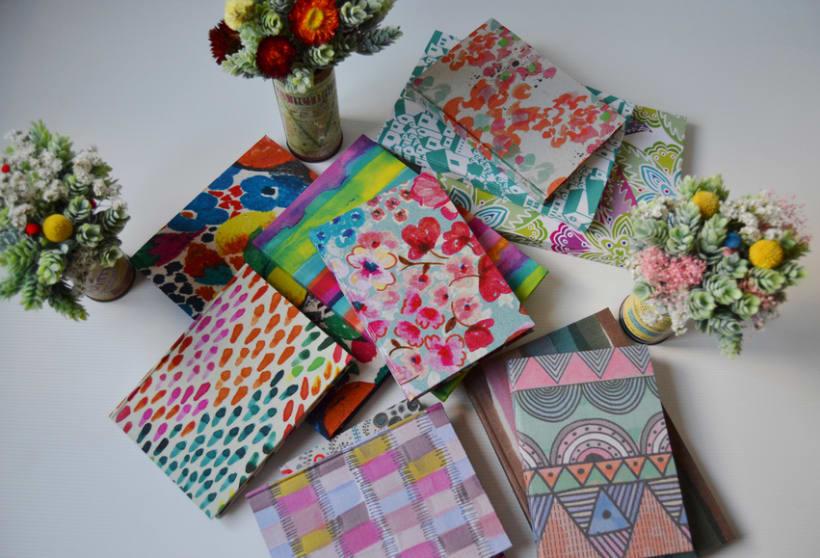 Cuadernos entelados 6