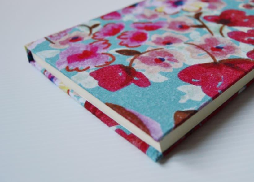 Cuadernos entelados 9