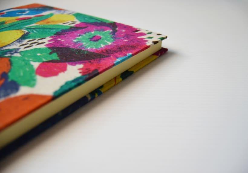 Cuadernos entelados 10