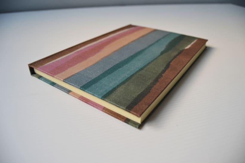 Cuadernos entelados 12