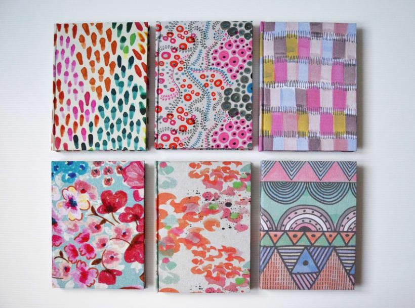 Cuadernos entelados 13