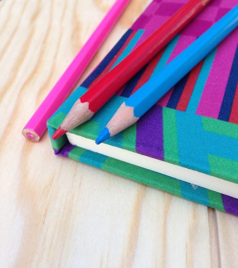 Cuadernos entelados 15