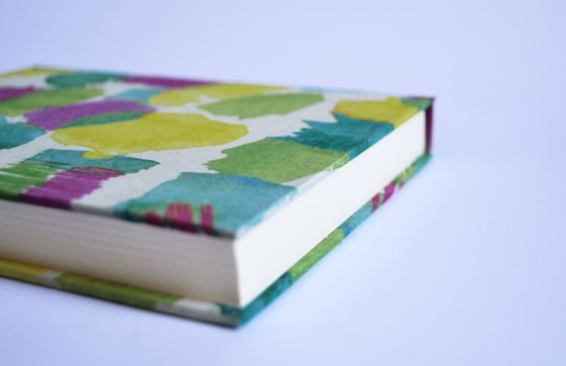 Cuadernos entelados 16
