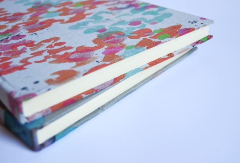 Cuadernos entelados 19