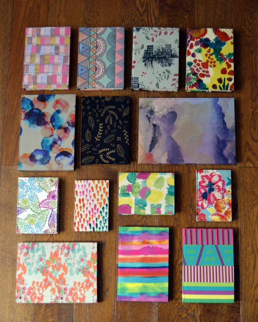Cuadernos entelados 20