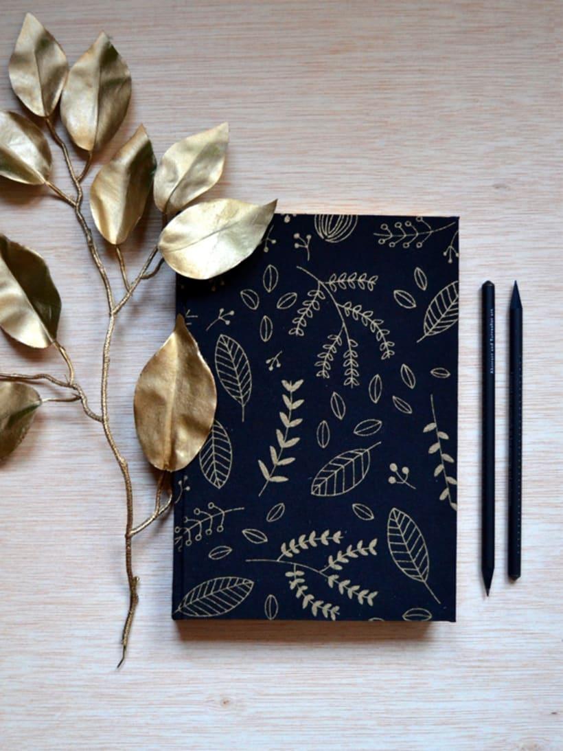 Cuadernos entelados 22