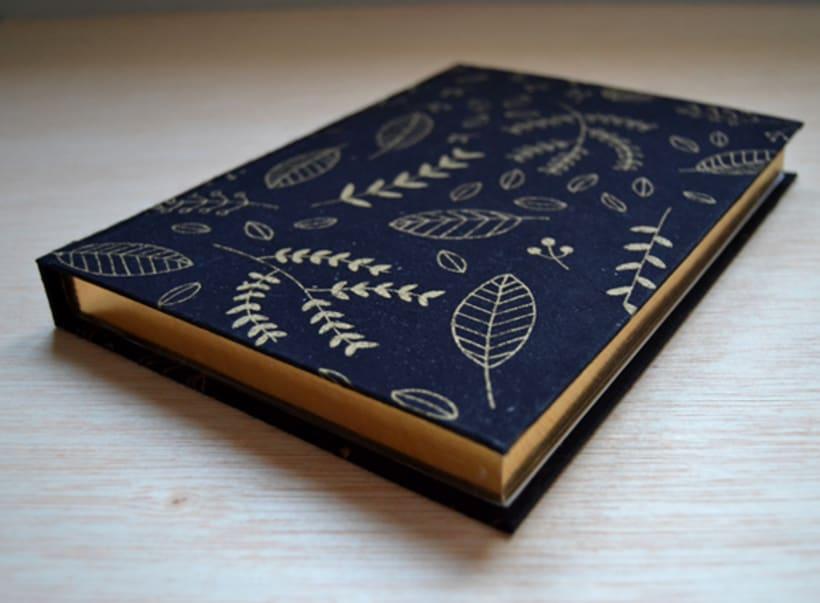 Cuadernos entelados 24