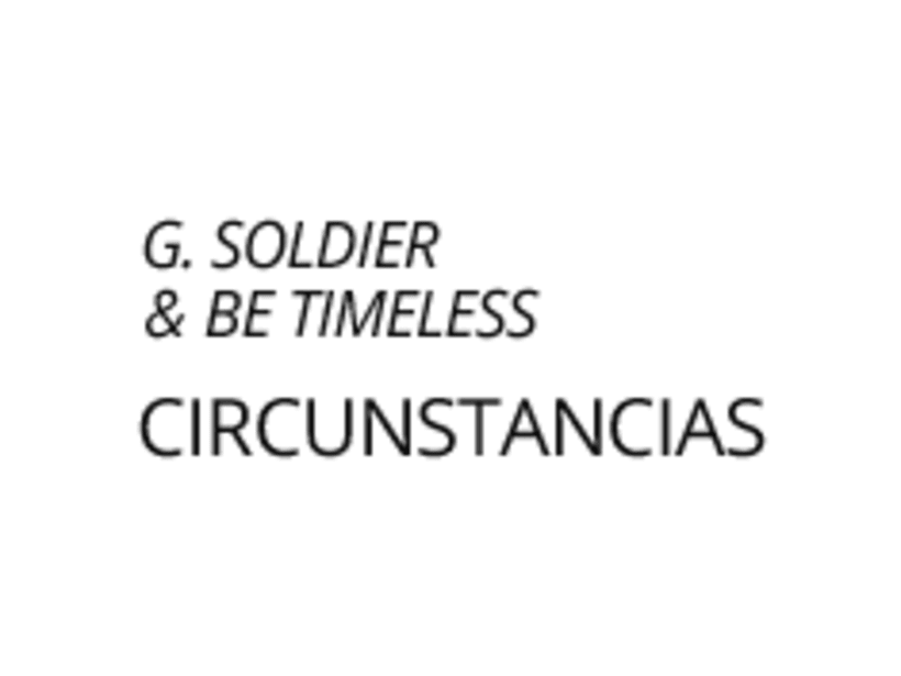 G. Soldier & Be Timeless / Cover Artwork 0
