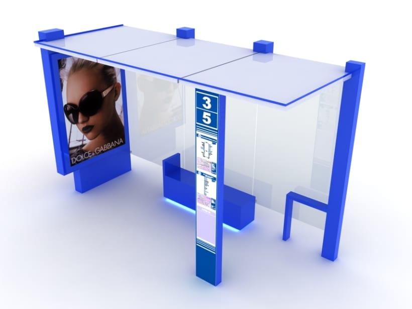 Marquesina Cube 0
