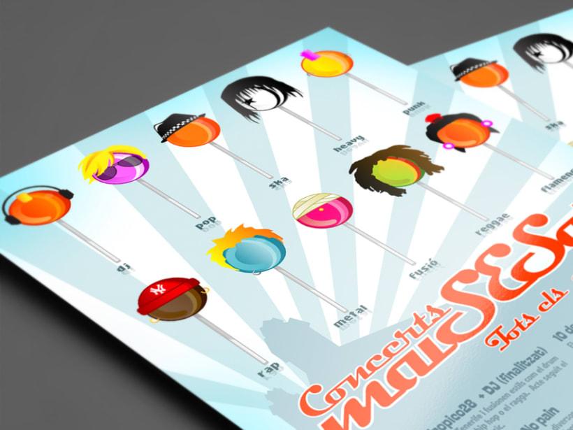 Cartel ciclo de conciertos. Ayuntamiento Sant Esteve Sesrovires 0