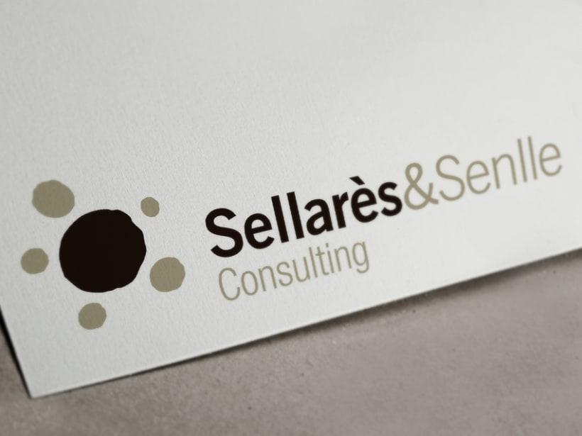 Logotipo consultoría Sellarès & Senlle 0