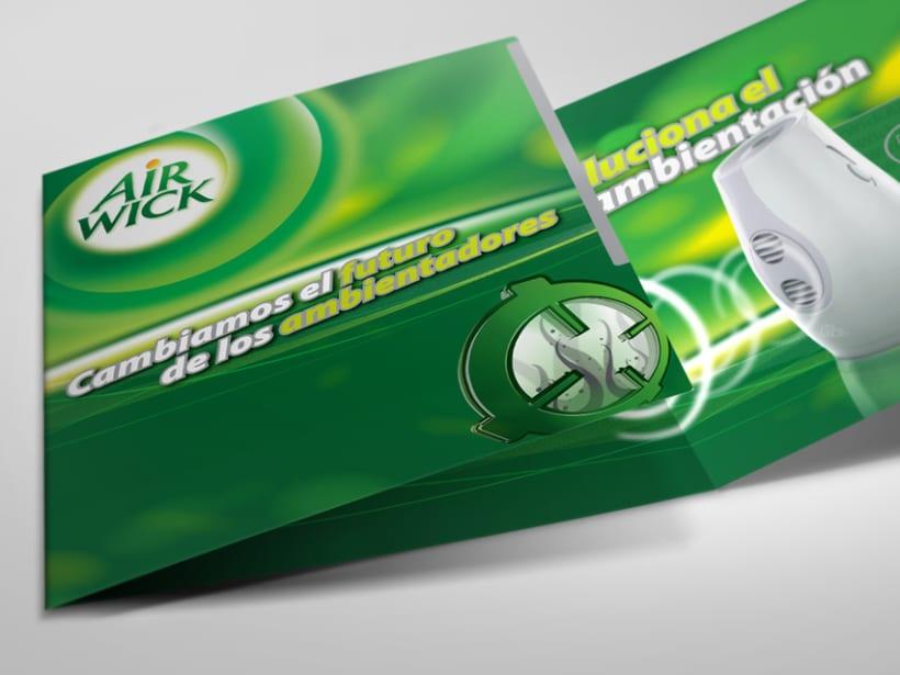 Sales folder Airwick Odour detect. -1
