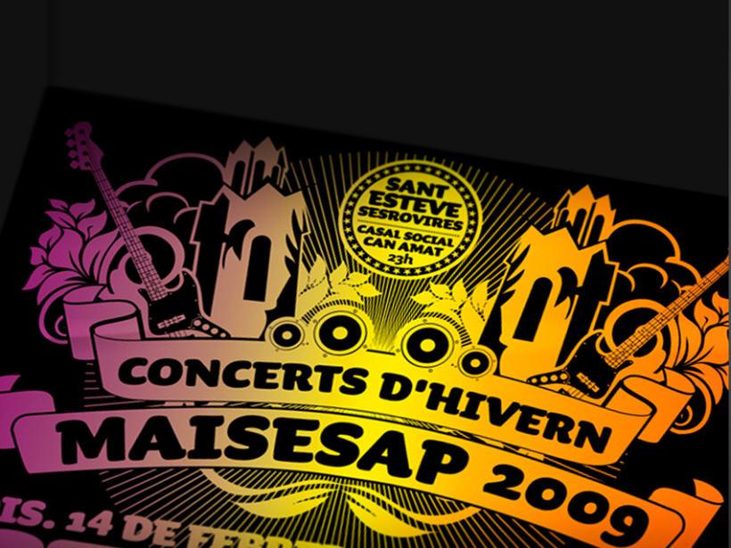 """Ciclos de conciertos """"Maisesap"""". Ayuntamiento Sant Esteve de Sesrovires. 0"""