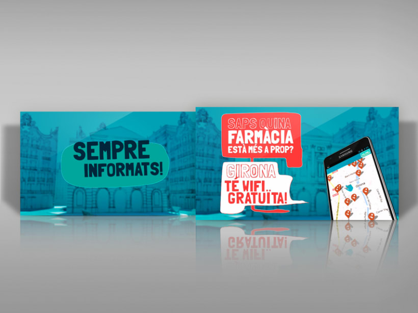 Gráfica video promocional para la aplicación I touch. 3