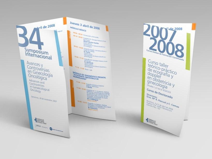 Propuesto de diseño para la nueva imagen de la cínica Dexeus. -1