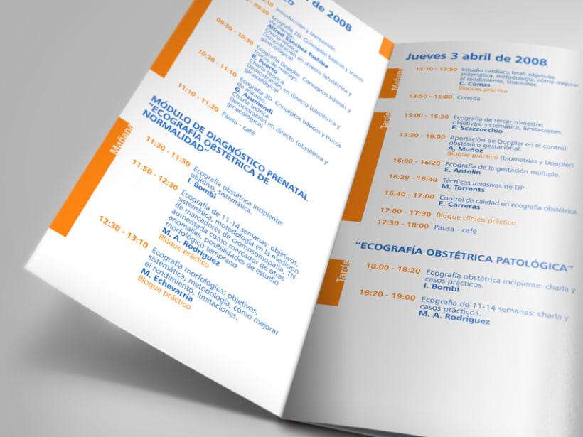 Propuesto de diseño para la nueva imagen de la cínica Dexeus. 2