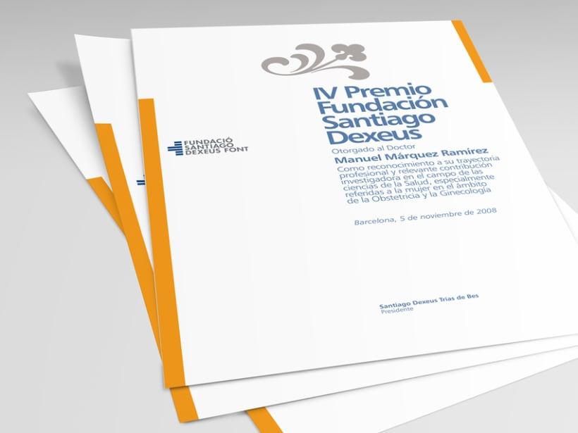 Propuesto de diseño para la nueva imagen de la cínica Dexeus. 3