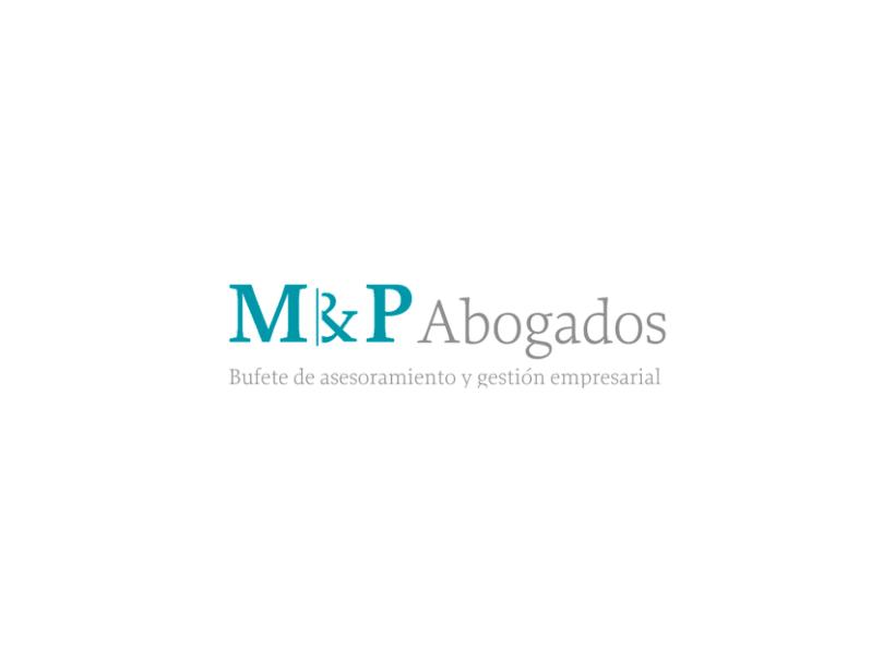 Identidad coorporativa M & P Abogados. 0