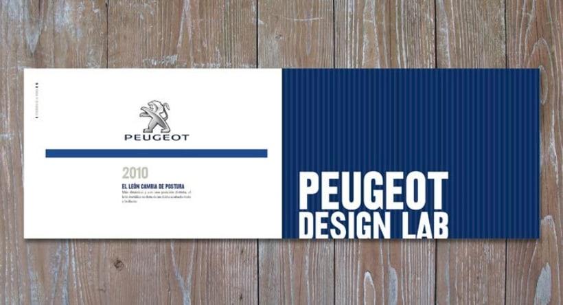 La Marque Peugeot 5