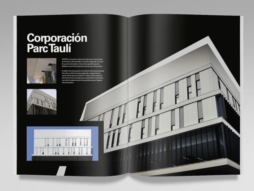 Catálogo constructora Atefor. 1