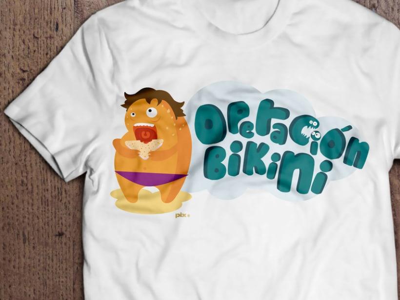 Camiseta Operación Bikini 1