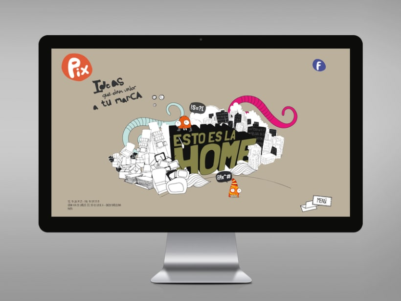 Diseño página web Pix estudio. -1